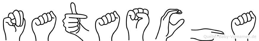Natascha in Fingersprache für Gehörlose
