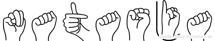 Natasja in Fingersprache für Gehörlose