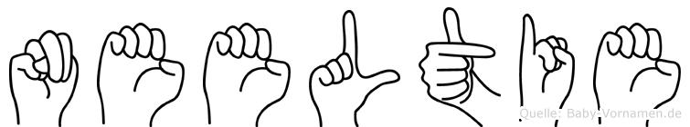 Neeltie im Fingeralphabet der Deutschen Gebärdensprache