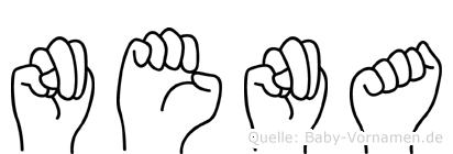 Nena in Fingersprache für Gehörlose
