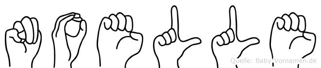 Noelle in Fingersprache für Gehörlose
