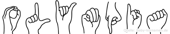 Olympia in Fingersprache für Gehörlose