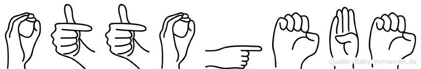 Ottogebe in Fingersprache für Gehörlose