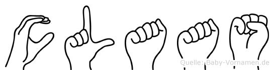 Claas in Fingersprache für Gehörlose