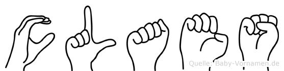 Claes in Fingersprache für Gehörlose