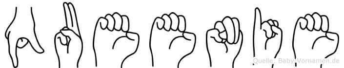 Queenie in Fingersprache für Gehörlose