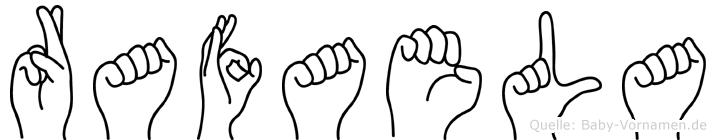 Rafaela in Fingersprache für Gehörlose