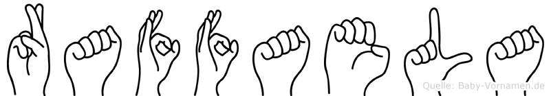 Raffaela in Fingersprache für Gehörlose