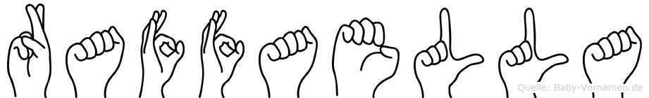 Raffaella in Fingersprache für Gehörlose