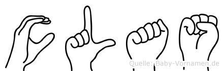 Clas in Fingersprache für Gehörlose