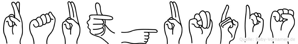 Rautgundis in Fingersprache f�r Geh�rlose