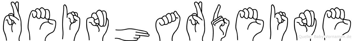 Reinhardeine in Fingersprache für Gehörlose