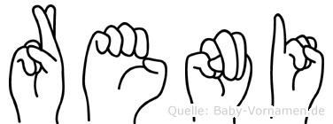 Reni in Fingersprache für Gehörlose