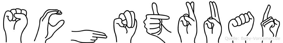 Schöntruad in Fingersprache für Gehörlose