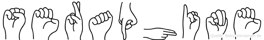 Seraphine in Fingersprache für Gehörlose