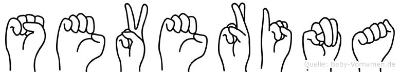 Severina in Fingersprache für Gehörlose