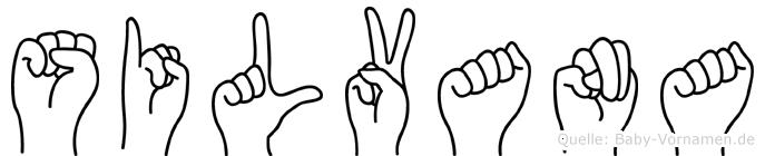Silvana in Fingersprache für Gehörlose