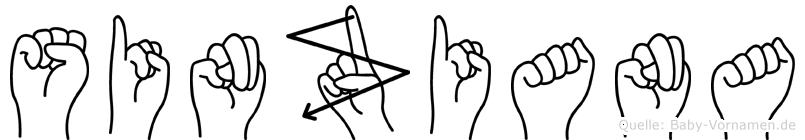 Sinziana in Fingersprache für Gehörlose