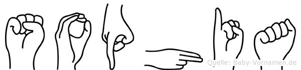 Sophia in Fingersprache für Gehörlose