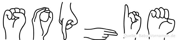 Sophie im Fingeralphabet der Deutschen Gebärdensprache