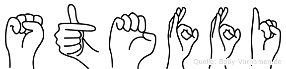 Steffi in Fingersprache für Gehörlose