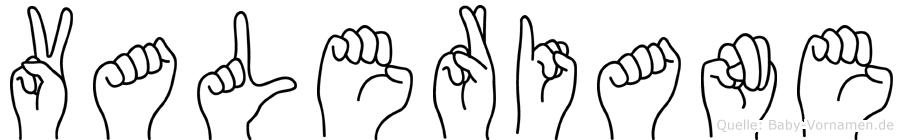 Valeriane in Fingersprache für Gehörlose