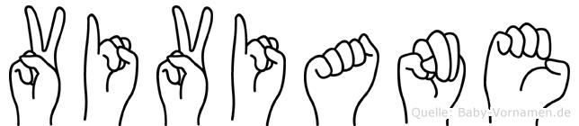Viviane in Fingersprache für Gehörlose