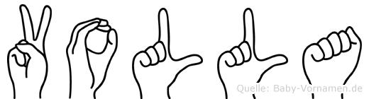 Volla in Fingersprache für Gehörlose