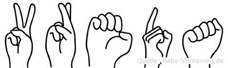 Vreda in Fingersprache für Gehörlose