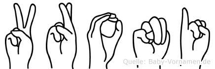 Vroni in Fingersprache für Gehörlose