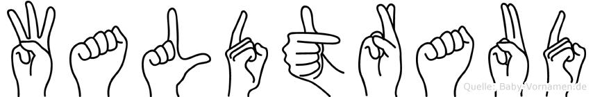 Waldtraud in Fingersprache für Gehörlose
