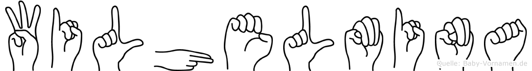 Wilhelmina in Fingersprache für Gehörlose