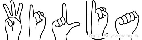 Wilja in Fingersprache für Gehörlose