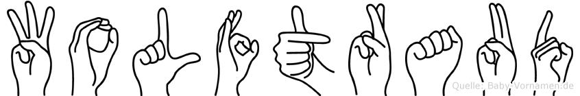 Wolftraud in Fingersprache für Gehörlose