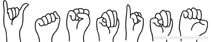 Yasmine im Fingeralphabet der Deutschen Gebärdensprache