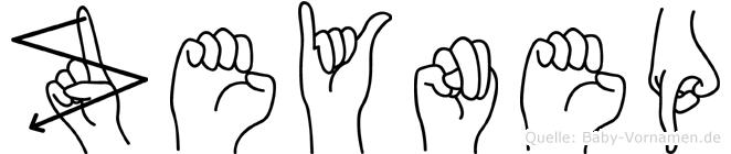 Zeynep in Fingersprache für Gehörlose