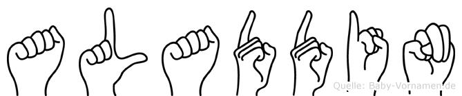 Aladdin in Fingersprache für Gehörlose