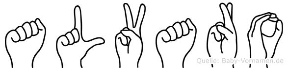 Alvaro in Fingersprache für Gehörlose