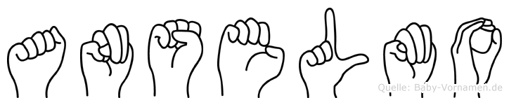 Anselmo in Fingersprache für Gehörlose