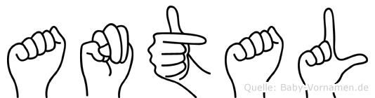 Antal in Fingersprache für Gehörlose