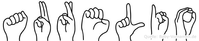 Aurelio in Fingersprache für Gehörlose