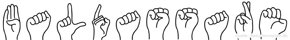 Baldassare in Fingersprache für Gehörlose