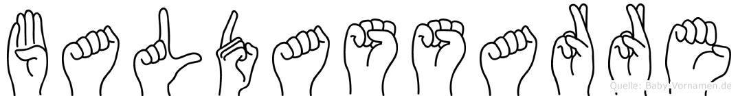 Baldassarre in Fingersprache für Gehörlose