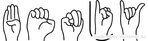 Benjy in Fingersprache für Gehörlose