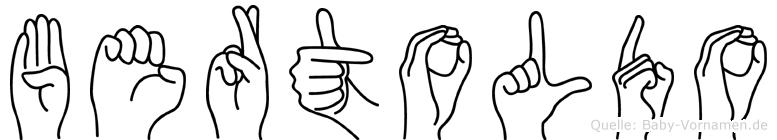 Bertoldo in Fingersprache für Gehörlose
