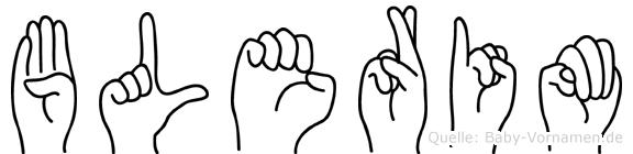 Blerim in Fingersprache für Gehörlose