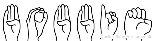 Bobbie in Fingersprache für Gehörlose