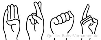 Brad in Fingersprache für Gehörlose