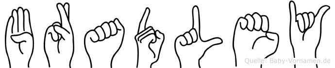 Bradley in Fingersprache für Gehörlose