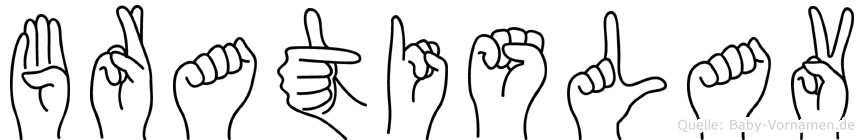 Bratislav in Fingersprache für Gehörlose